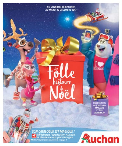 Catalogue Jeux Et Jouets Noel 2017 Auchan By Yvernault