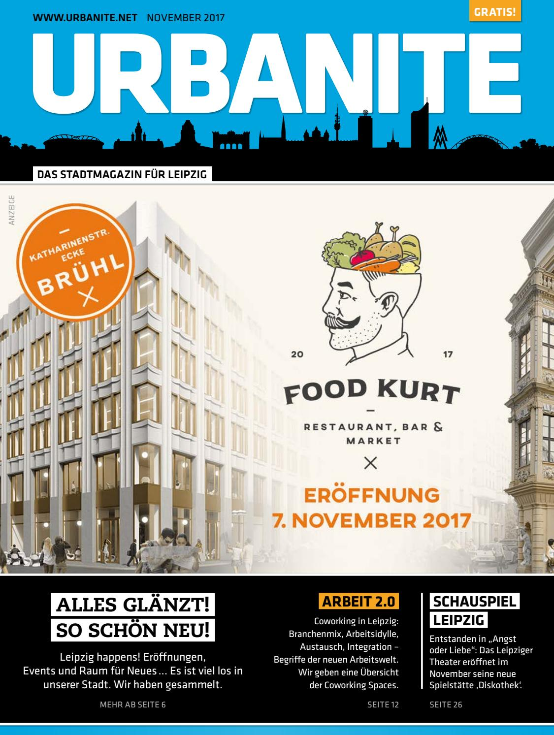 URBANITE - Stadtmagazin Leipzig | November 2017 by urbanite - issuu