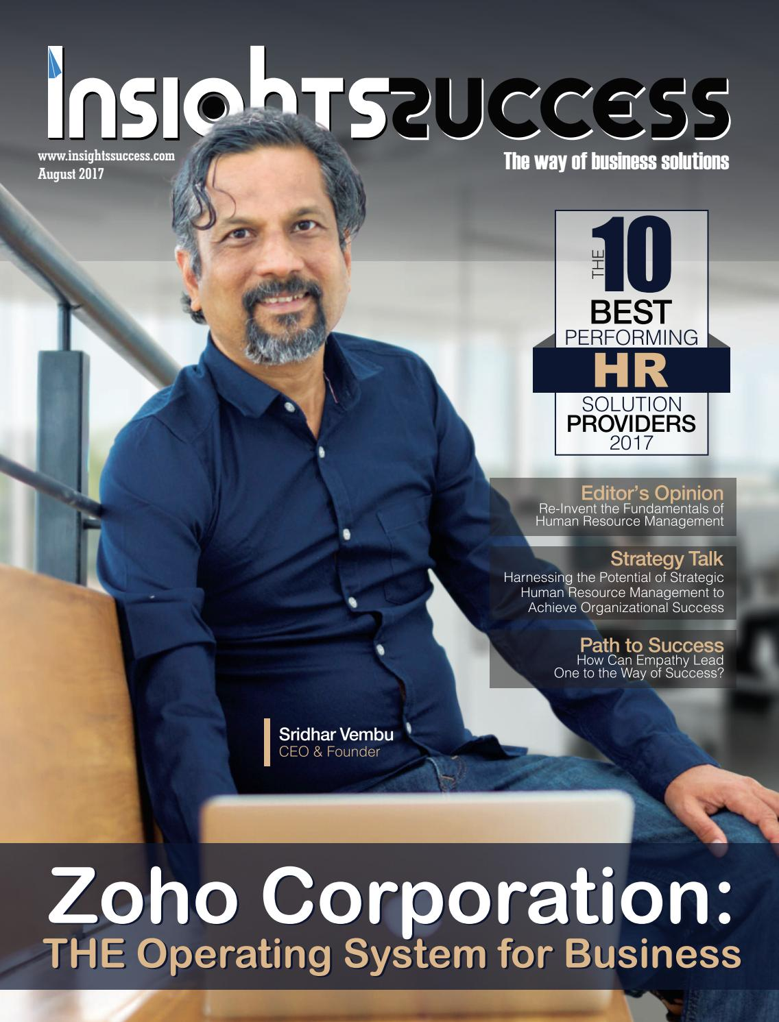 Insightssuccess the 10 best performing hr solution providers