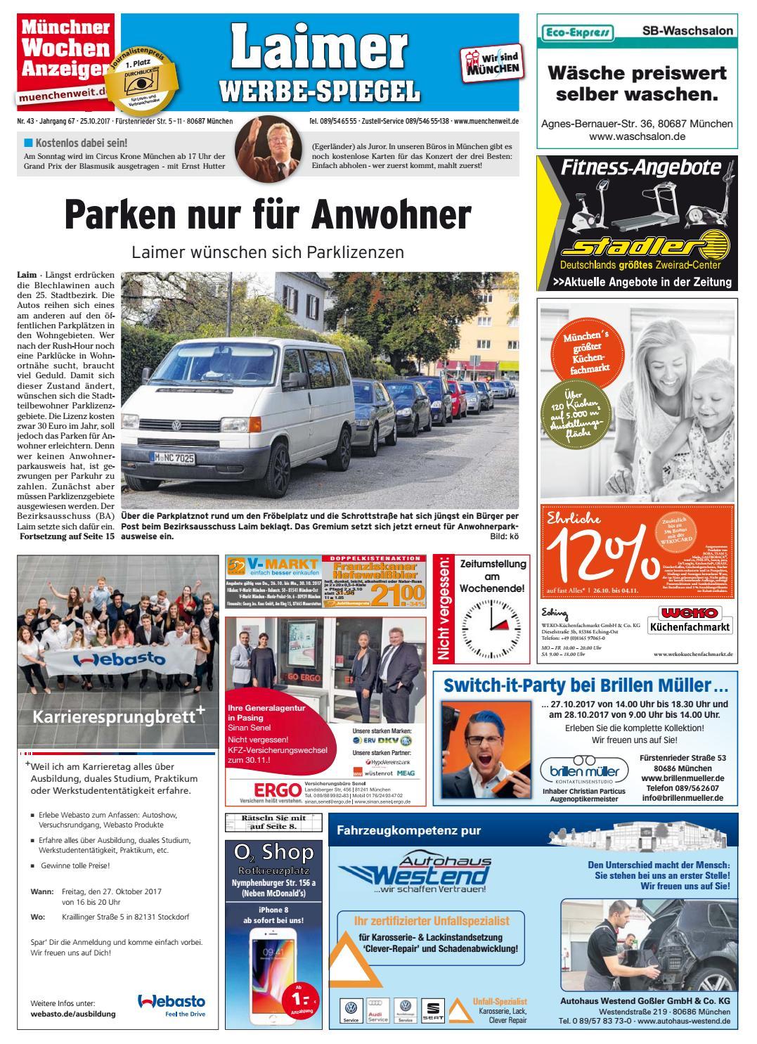 KW 43-2017 by Wochenanzeiger Medien GmbH - issuu