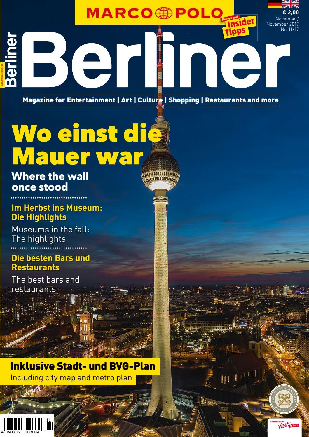 Marco Polo Berliner 11/17 by Berlin Medien GmbH - issuu