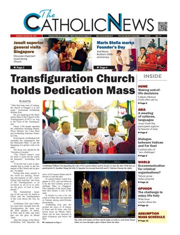 Catholic News issue 17, 2017 by CatholicNews - issuu
