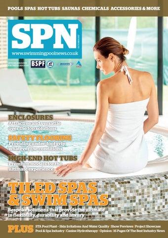 SPN (Swimming Pool News) October 2017 by Aqua Publishing Ltd ...