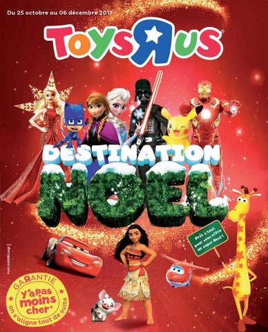 "Catalogue Toys ""R"" us Noël 2017 - Monsieur Échantillons"