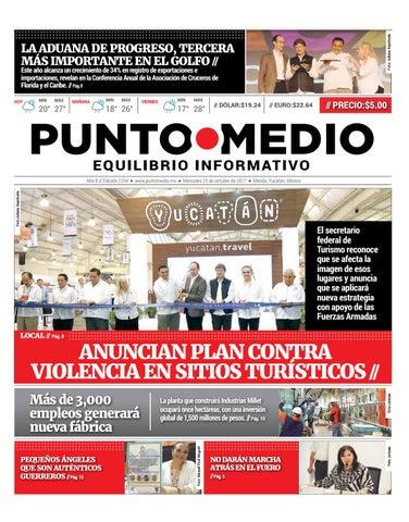 Edición impresa miércoles 25 de octubre de 2017 by Punto Medio - issuu c0f95ce791e