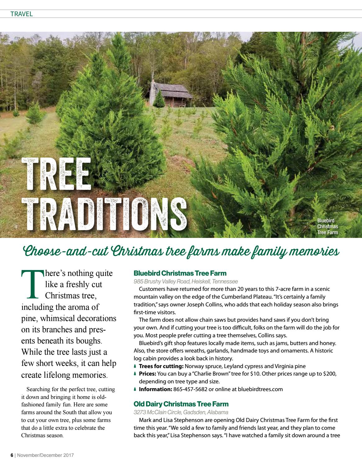 wkt connection novemberdecember 2017 by wordsouth public relations issuu - Bluebird Christmas Tree Farm