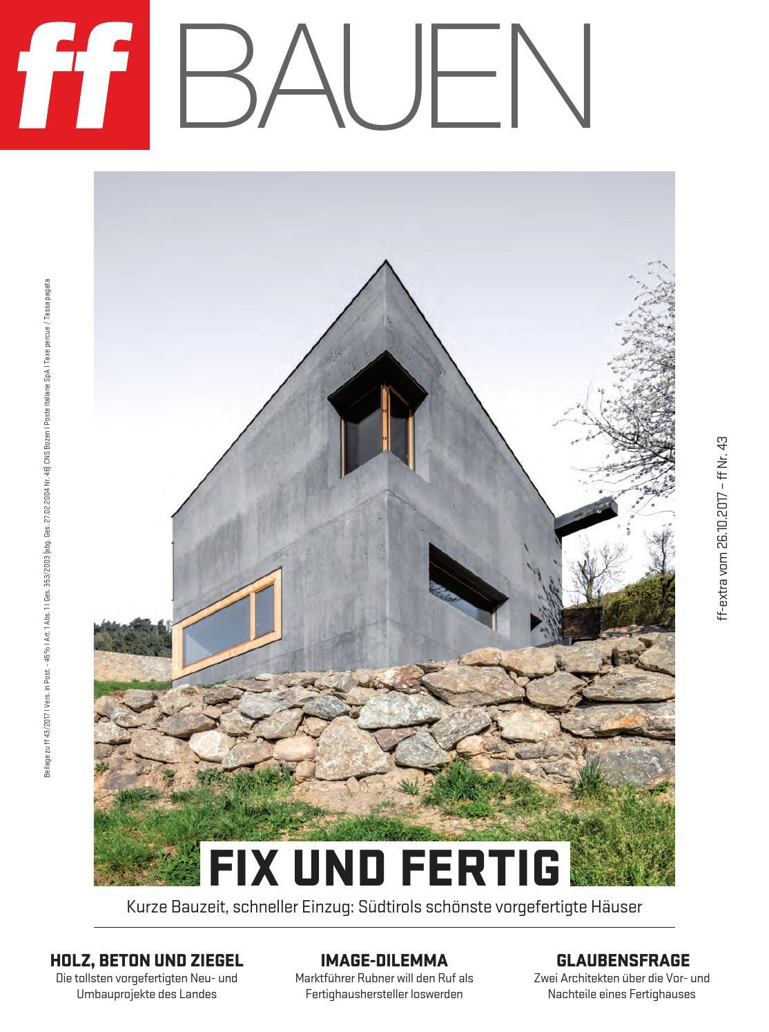 ff Extra Bauen 43-2017 by FF-Media GmbH - issuu