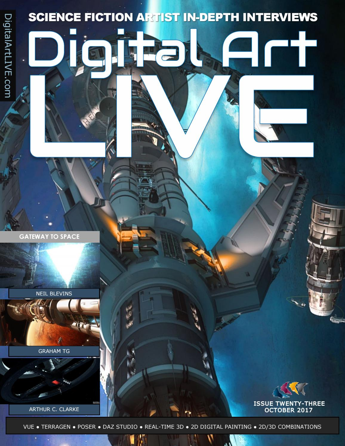 Digital art live issue 23 by digital art live issuu yelopaper Image collections