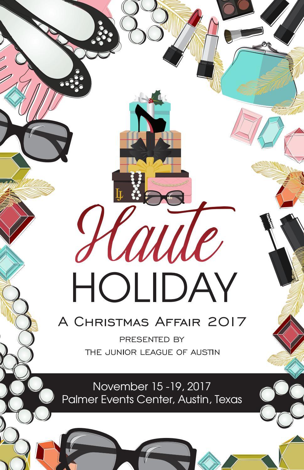 Capitol Chevrolet Austin >> 2017 A Christmas Affair Invitation by The Junior League of ...