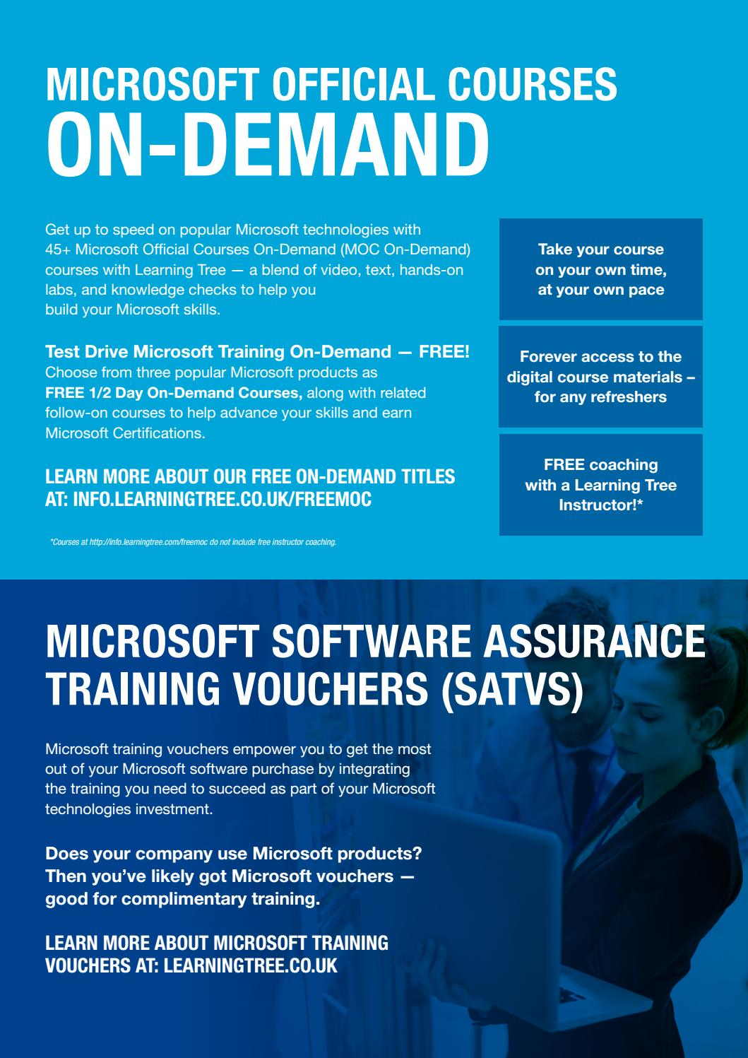 Enhance Your Credentials With Microsoft Official Training Moc