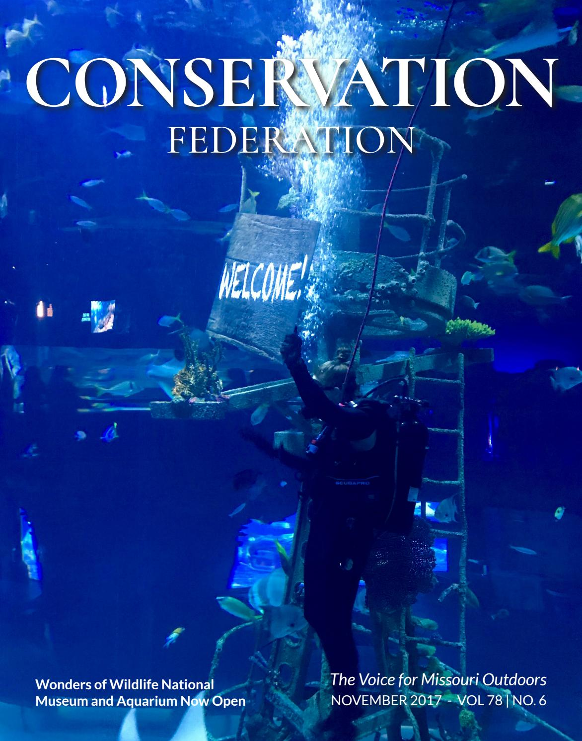 November 2017 vol 78 no 6 by Conservation Federation - issuu