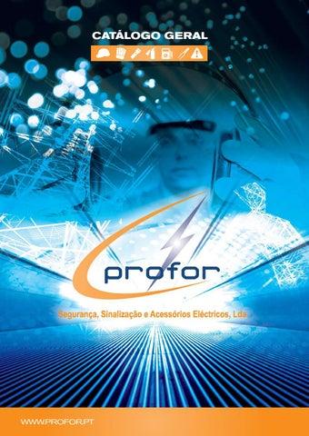 Profor catalogogeralpt by Profor - Segurança 8a057b7db26