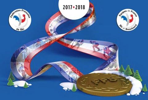 Plaquette des Equipes de France de Ski et Snowboard 2017