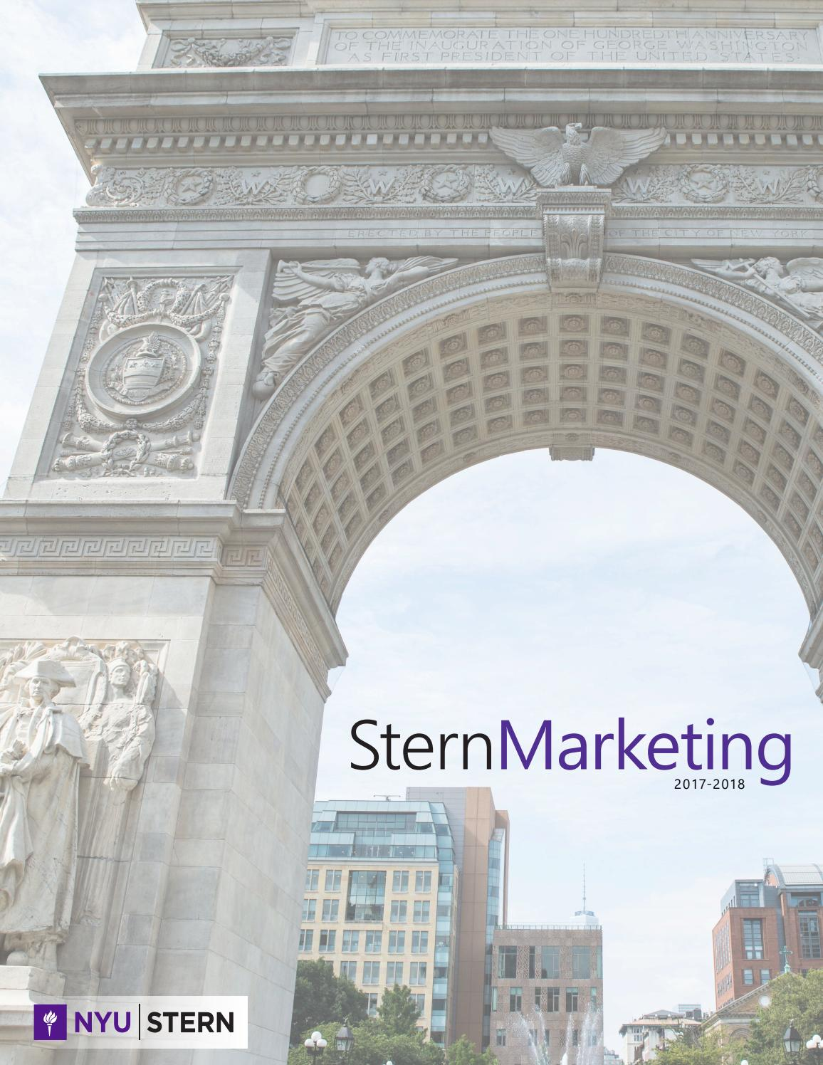 Stern Marketing 2017 Newsletter by NYUSternMKTG - issuu