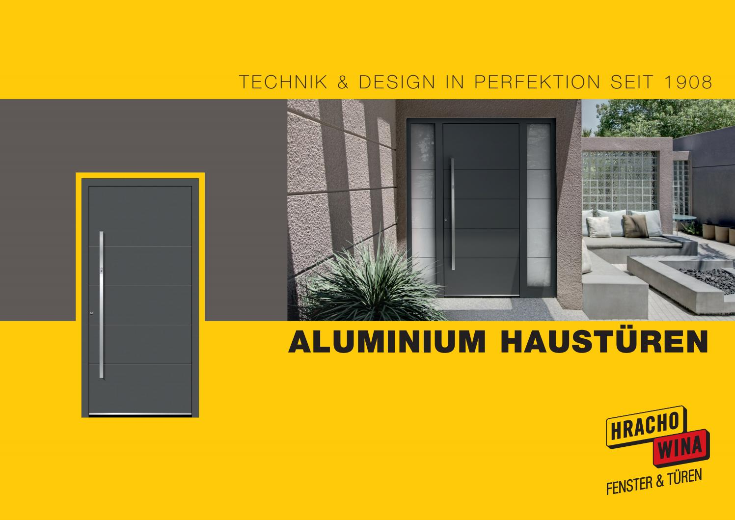 Hrachowina Aluminiumtueren by wohnnet - issuu