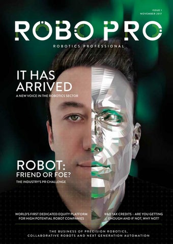The Beginning | RoboPro 01 | October 2017 by Clifton Media Lab - issuu