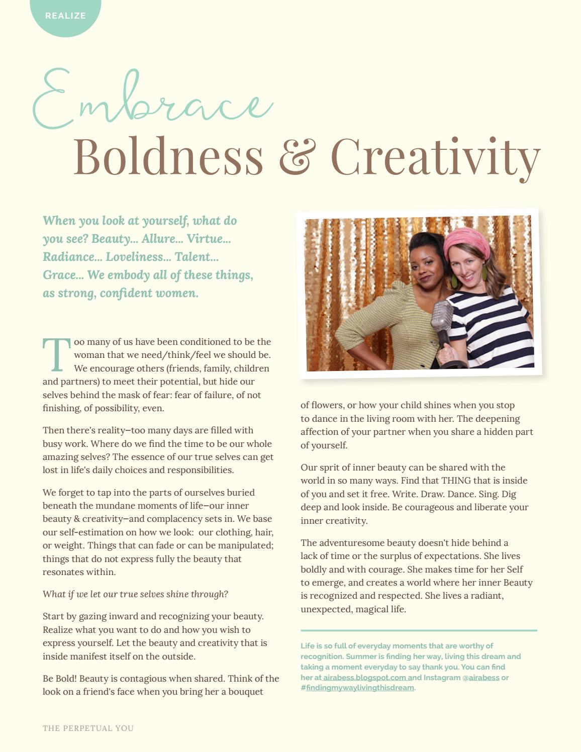 Create Ease by Embracing Beauty by The Perpetual You - issuu