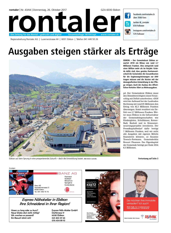 Luzerner Rundschau - Luzerner Rundschau