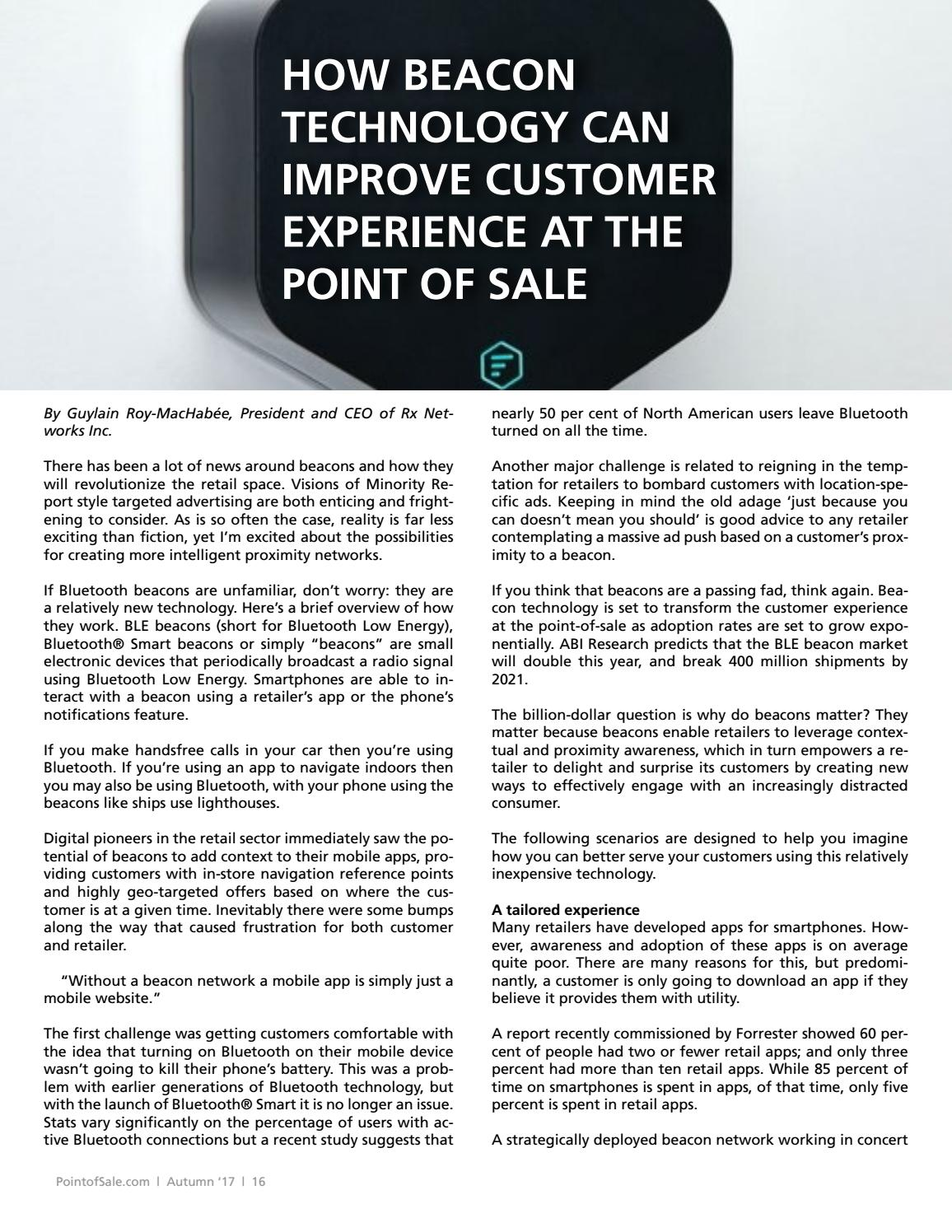 The Loyalty Issue: Point-of-Sale Magazine by Barcode com - issuu