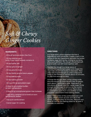 Page 43 of Soft & Chewy Ginger Cookies
