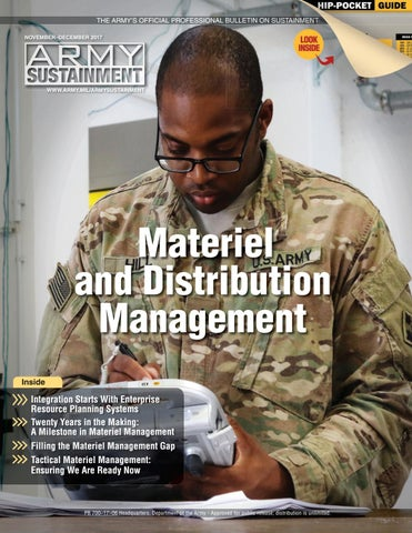Army Sustainment November December 2017 By Army Sustainment Issuu