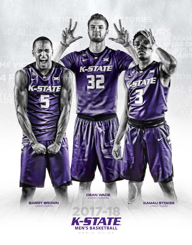 the best attitude d1646 bea53 2017-18 Kansas State Men s Basketball Media Guide