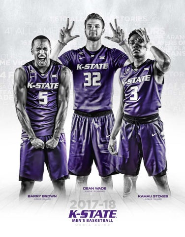 eb41f03d26e5 2017-18 Kansas State Men s Basketball Media Guide by K-State ...