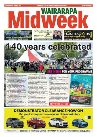Wairarapa Midweek Wed 25th Oct by Wairarapa Times-Age - issuu