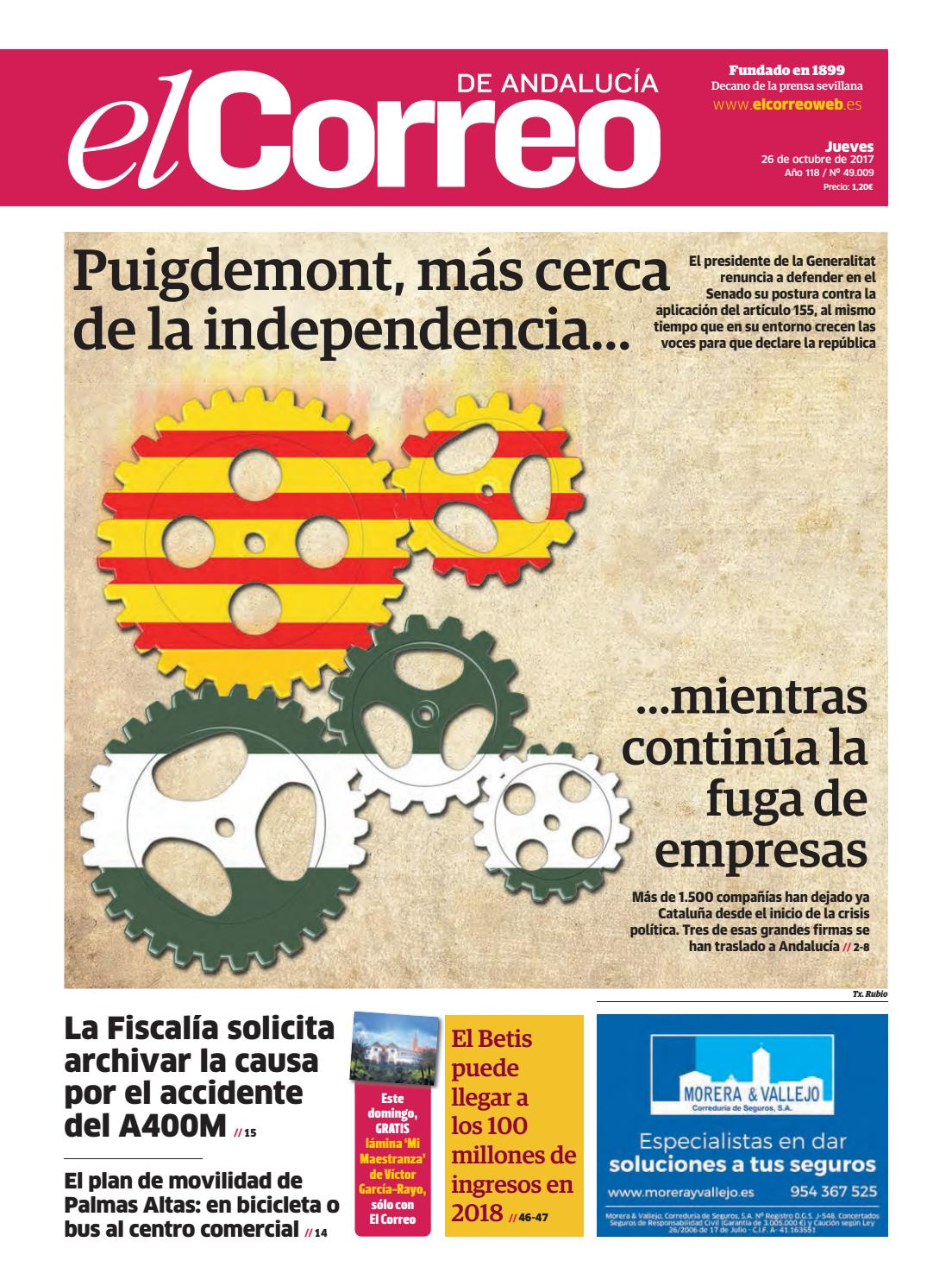 26.10.2017 El Correo de Andalucía by EL CORREO DE ANDALUCÍA S.L. - issuu