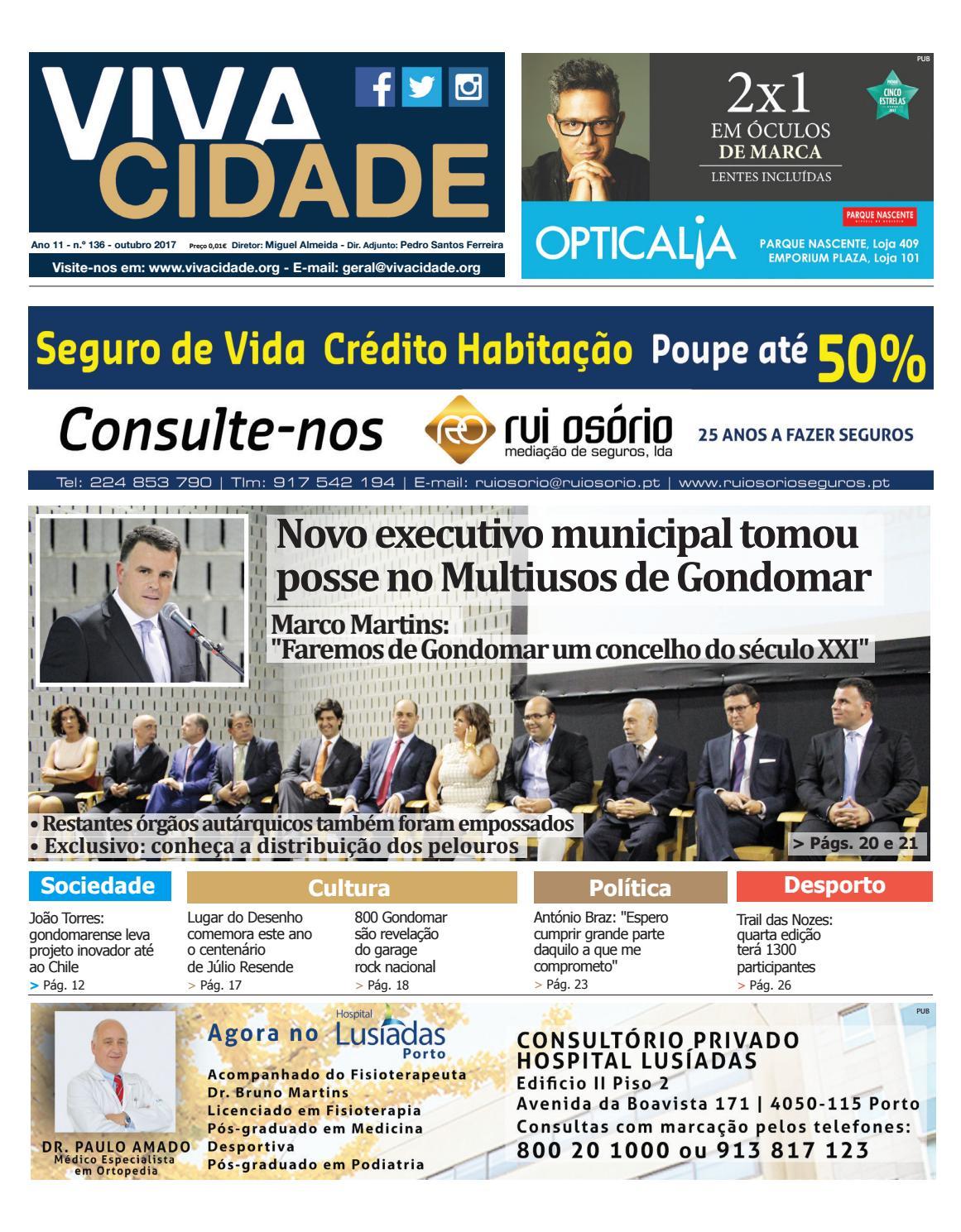 ffc68725ae20c Edição de outubro 2017 by Jornal Vivacidade - issuu