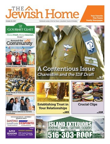 Five Towns Jewish Home - 10-26-17 by Yitzy Halpern - issuu