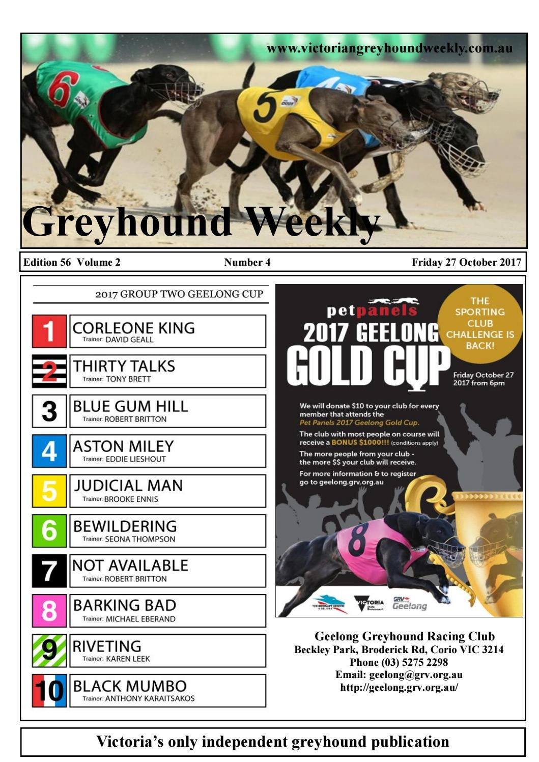 Greyhound weekly 56 october 27 by The Waterline News - issuu
