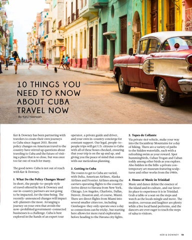 Page 19 of 10 Tips on Travel to Cuba
