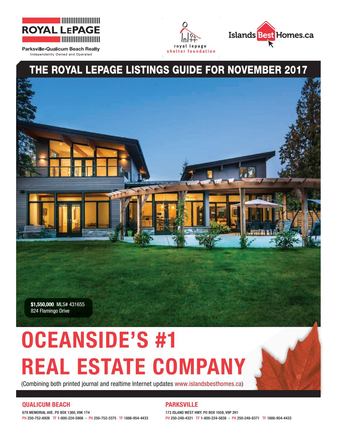 Islands Best Homes - Royal LePage Parksville-Qualicum Beach Realty ...