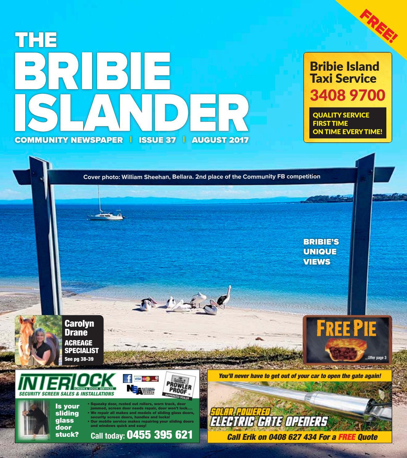 The Bribie Islander August / September 2017 Issue 37 By The Bribie Islander    Issuu