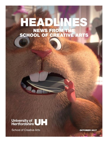 f3427921b953ac Headlines 8.5  News from the School of Creative Arts by University ...