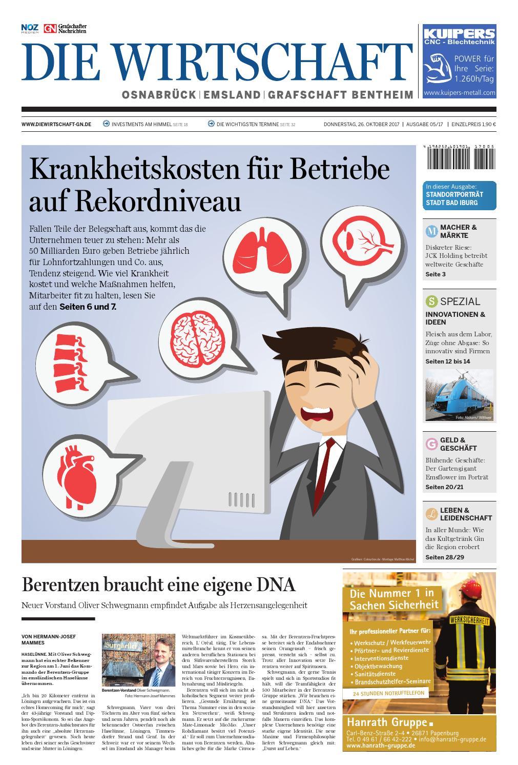Die Wirtschaft November 2017 by Grafschafter Nachrichten - issuu