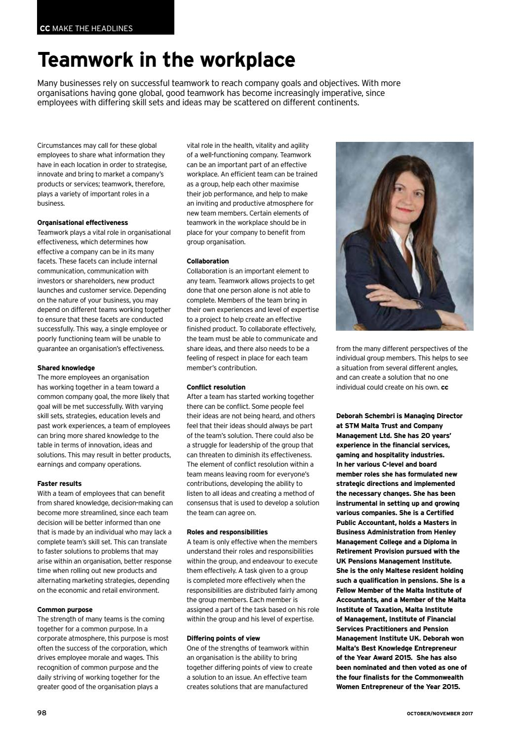 The Commercial Courier October/November 2017 by Content