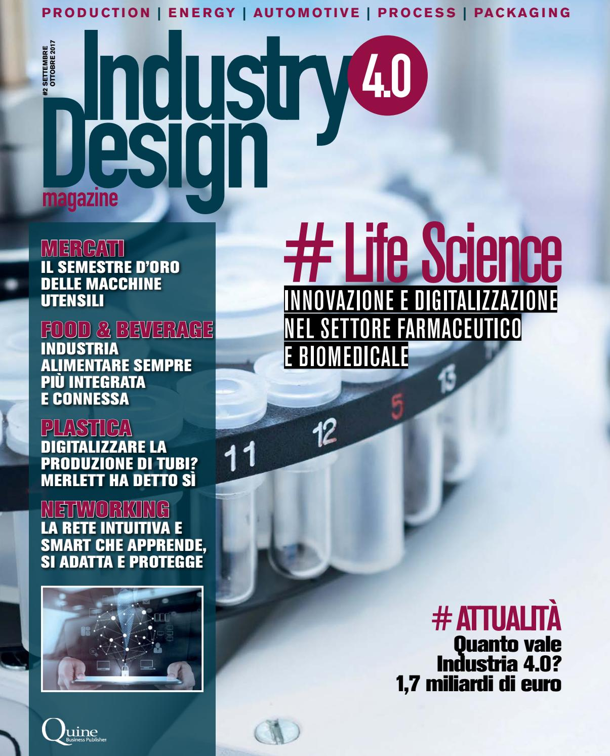 Industry 4.0 Design magazine  2 - settembre ottobre 2017 by Quine Business  Publisher - issuu 2aa2da401814