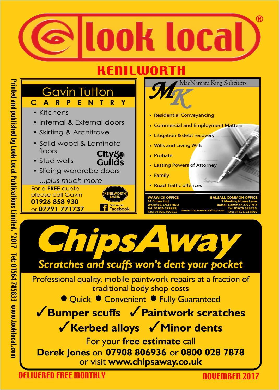 View kenilworth nov by Look Local Publications - issuu