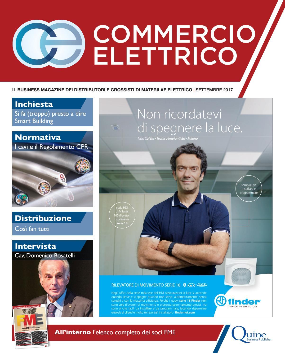 Commercio Elettrico  6 - settembre 2017 by Quine Business Publisher - issuu 42dfce4c247b