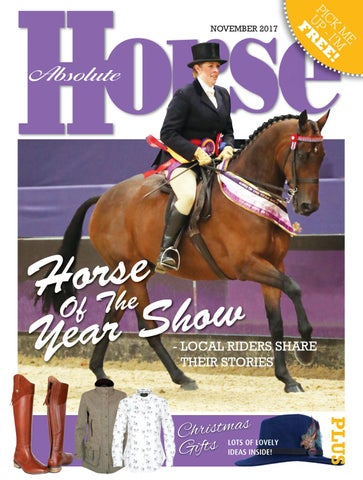 2270e4725a41c1 Absolute Horse - November 2017 by Absolute Horse Magazine - issuu