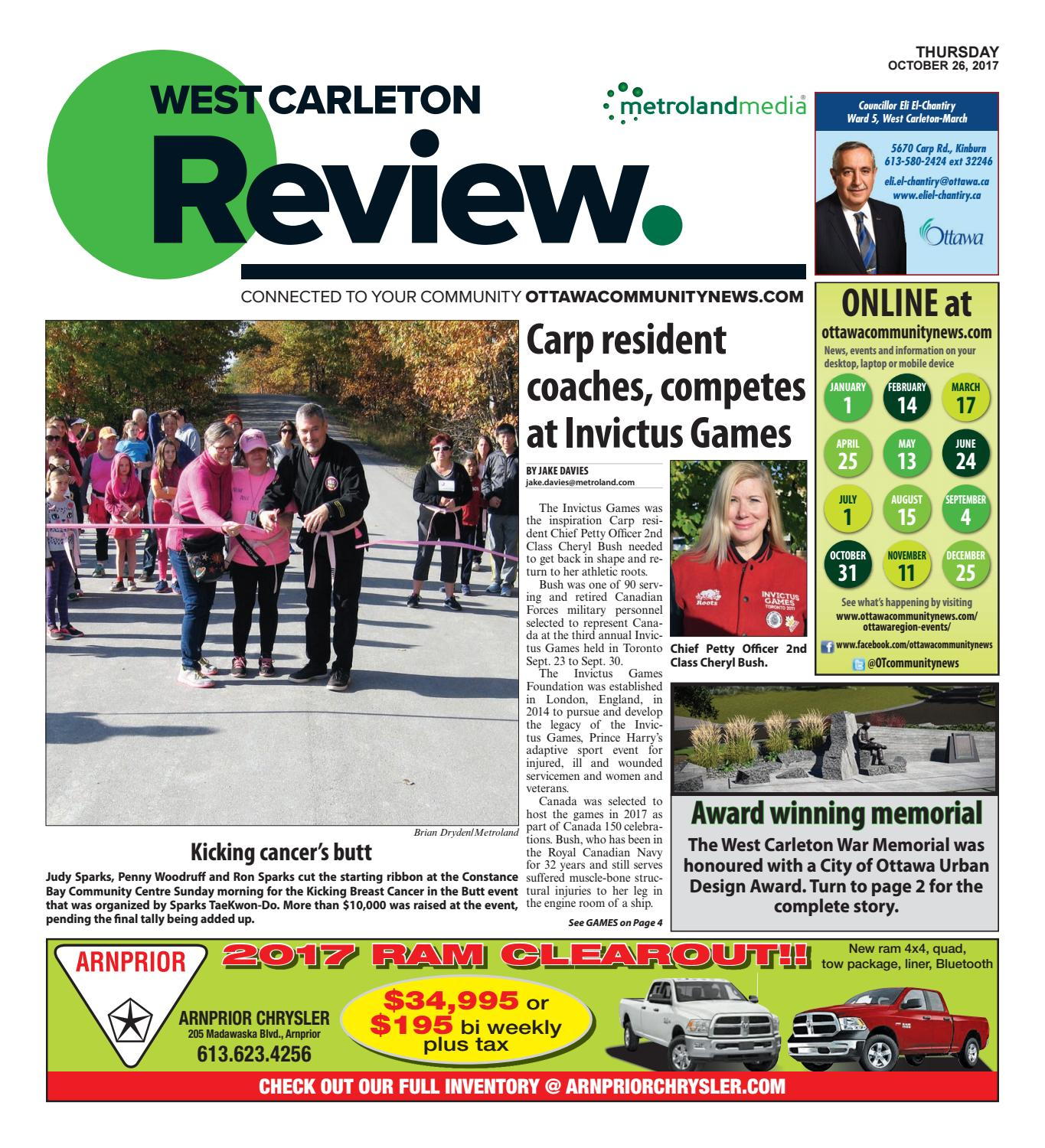 Westcarleton102617 By Metroland East West Carleton Review Issuu Morris Xchange Xclusive 125ml Silver