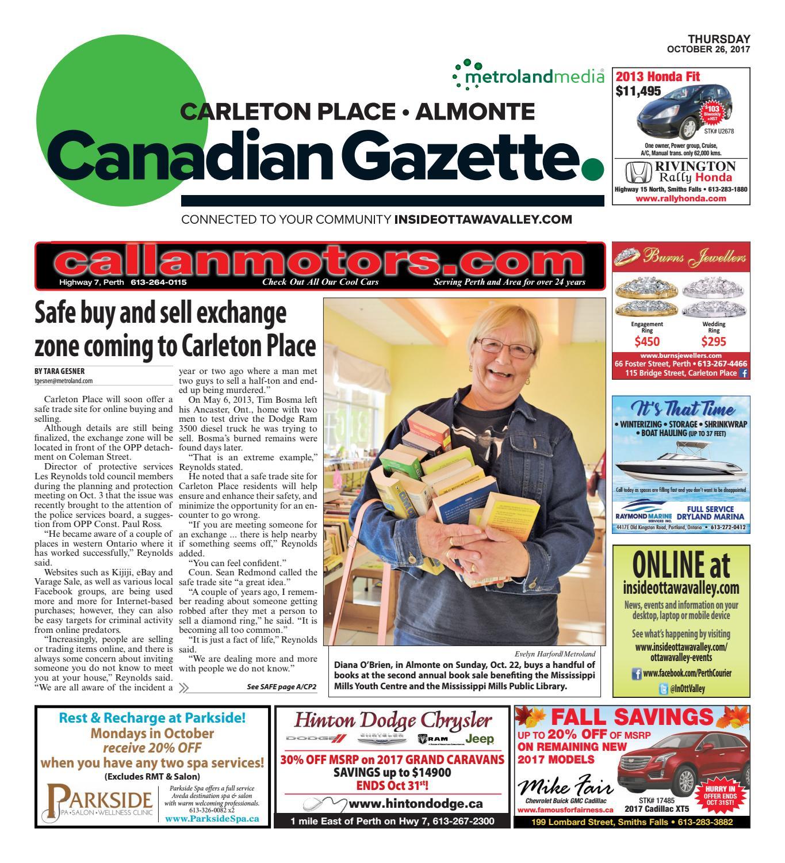 Almontecarletonplace102617 By Metroland East Almonte Carleton