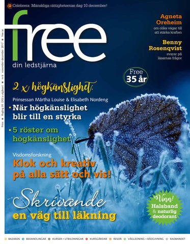 Free nr 6 november–december 2017 by Tidningen Free - issuu 722c9a975e045