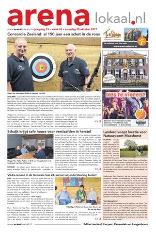 f5134471d84 Weekblad Arenalokaal editie Landerd, Ravenstein en Herpen week 43 ...
