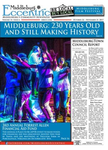 Middleburg Eccentric October 2017 By Middleburg Eccentric Llc
