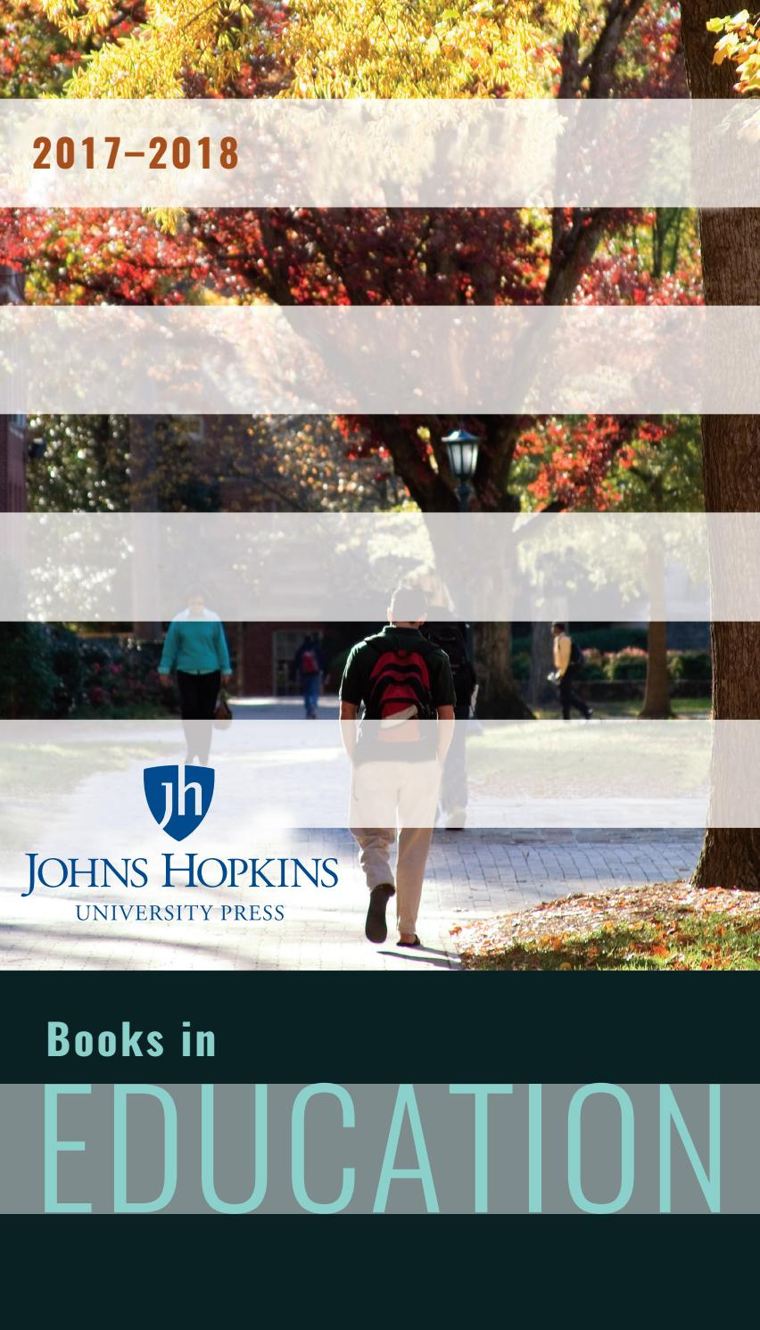 Jhup books in education 2017 2018 by susan ventura issuu fandeluxe Image collections