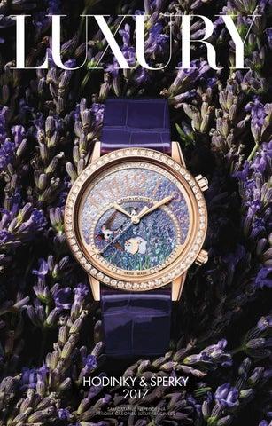 19b9fe17c8 Noviny Hodinky   šperky 2017 by LuxuryGuideCZ - issuu
