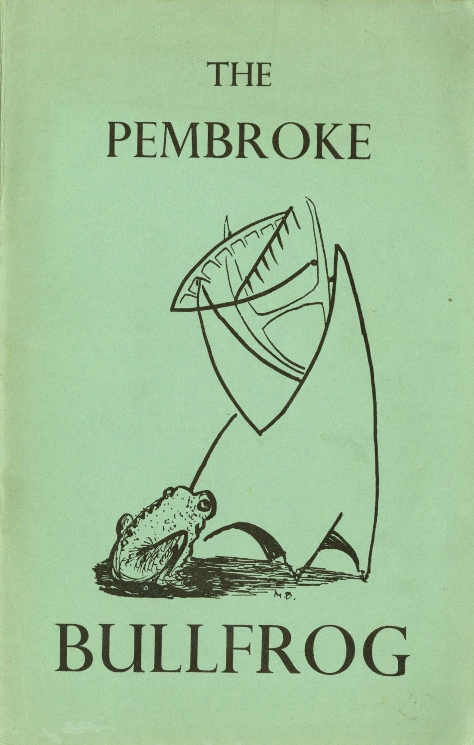 The Pembroke Bullfrog, Issue 5, 1960 by Pembroke College, Oxford - issuu